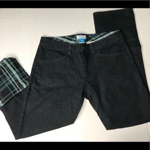 Columbia Black stretchy jean pants flannel 8